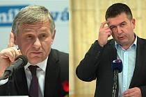 Jiří Čunek versus Jan Hamáček