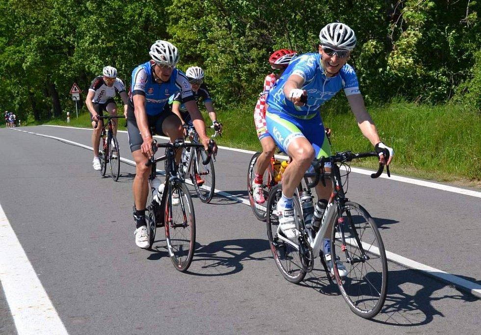 cyklista FORCE KCK Cykloteam Zlín Ivo Odvárka