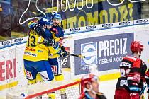 Hokejisté Zlína porazili Hradec Králové.