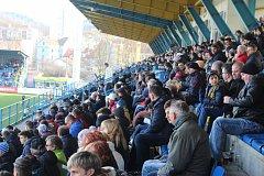Sobotní fotbalové derby FC Fastav Zlín vs. Sigma Olomouc