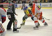 Hokejisté Aukro Berani Zlín se ve 20. kole hokejové extraligy utkali s Olomoucí.