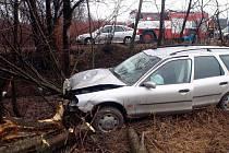 Ledovka i mlha v úterý 18. ledna ráno pořádně potrápila řidiče ve Zlínském kraji. Zejména na Zlínsku se stalo několik nehod, k nimž museli vyjet i hasiči.