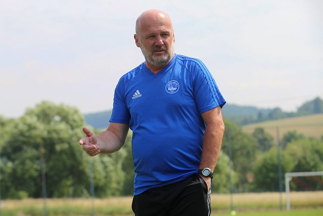 Příprava fotbalistů FC FASTAV ZlínMichal Bílek