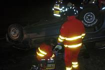 Vážnější havárie u Lukovečka