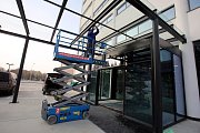Obchodní dům ve Zlíně po rekonstrukci.