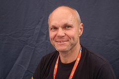 Závodní automechanik Jiří Stěhule z plzeňského týmu Euro oil Invelt team.
