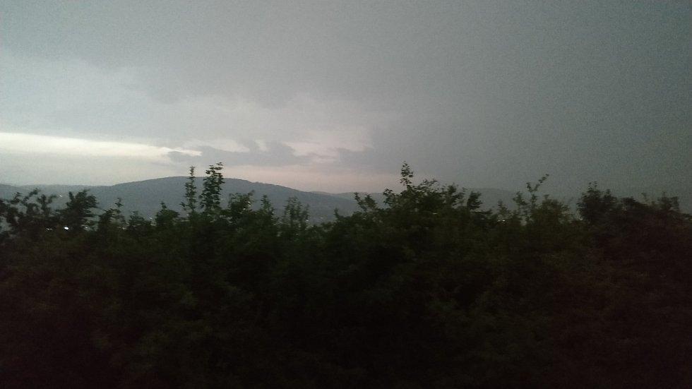 Bouře útočí na Zlínsku