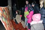 Děti si užily s DDM Astra stezku plnou strašidel