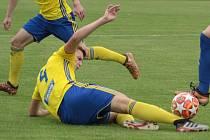 Fotbalisté zlínského béčka. Ilustrační foto