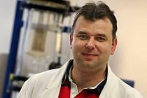 Marián Lehocký, vědecko-výzkumný pracovník Univerzity Tomáše Bati ve Zlíně.