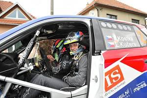 Automobilový závodník Tomáš Kostka ze Zlína.