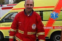Petr Olšan, mluvčí Zdravotnické záchranné služby Zlínského kraje