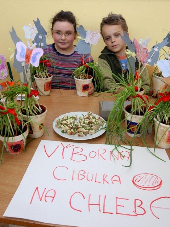 Jarní bazárek v základní škole TGN v Otrokovicích