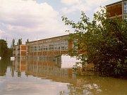 Povodně v Otrokovicích v roce 1997