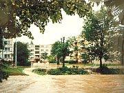 Povodně v Tlumačově v roce 1997