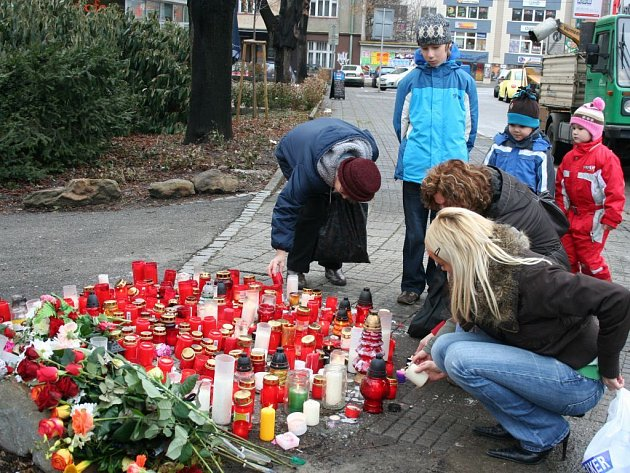 Místo tragického pádu stromu ve Zlíně: dva dny poté
