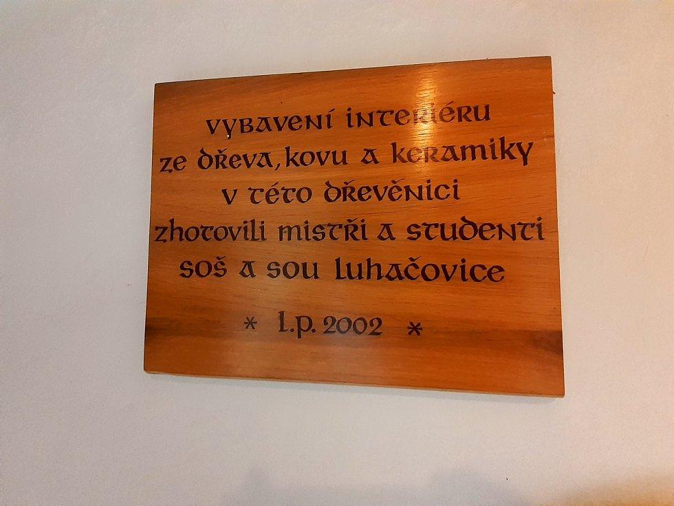 Akce Živé dřevěnice ve Valašských Kloboukách.