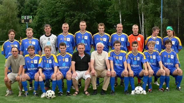 Fotbalisté z Žalkovic.