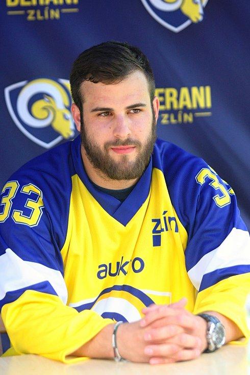 Hokejisté Zlína představili novou posilu. Berani získali útočníka Michala Poletína z Chomutova.