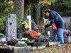 Lesní hřbitov ve Zlíně. Ilustrační foto