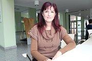 Učitelka z malenovické základní školy Gabriela Pippalová. Už dvaadvacet let učí mimo jiné matematiku.