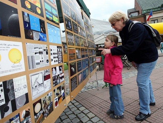 Bambiriáda 2013 na náměstí ve Zlíně.