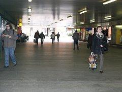 Podchod pod třídou Tomáše Bati ve Zlíně.