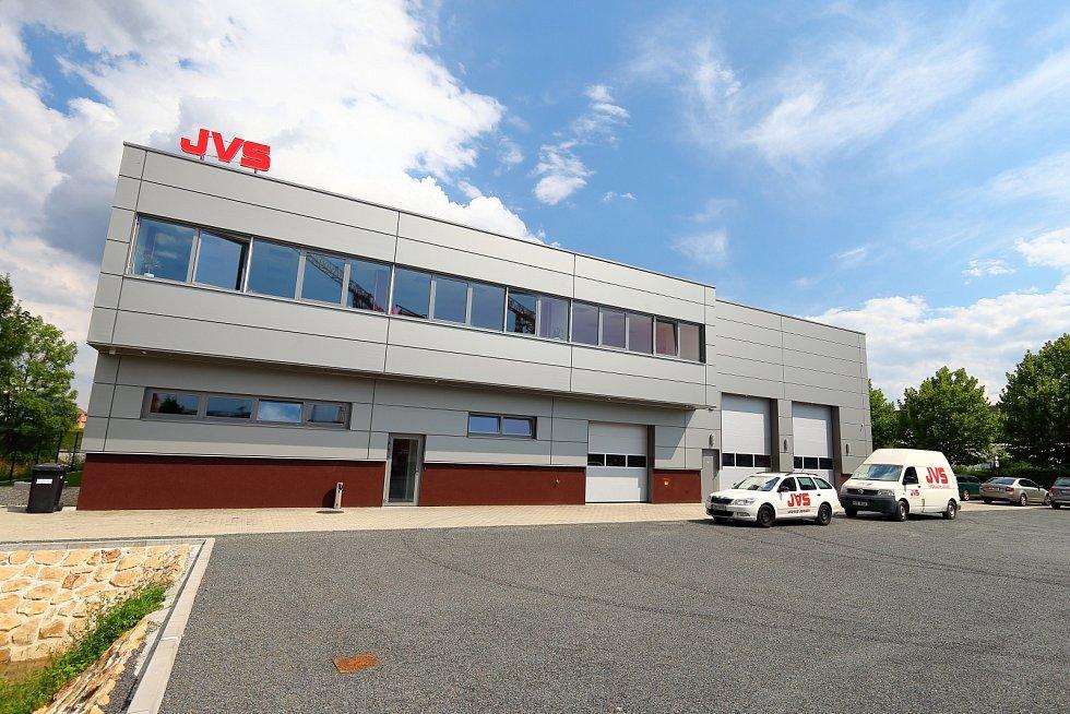 Rozšíření areálu JVS Cranes s.r.o., Otrokovice