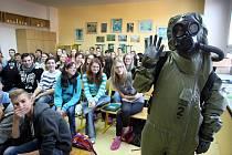 Akce děti a armáda v základní škole Křiby ve Zlíně