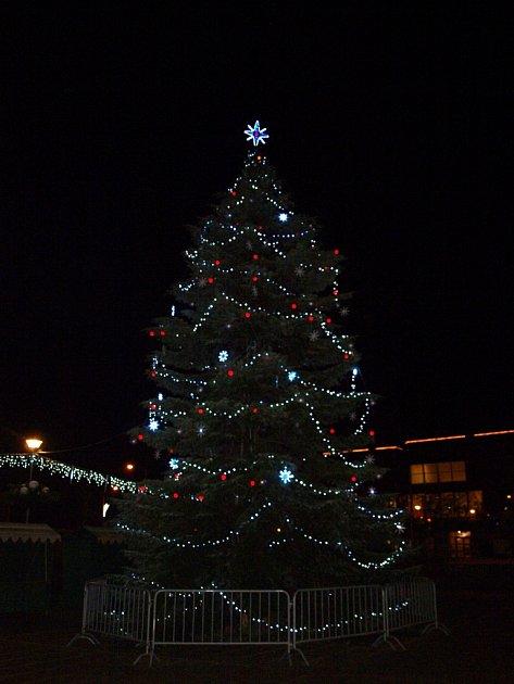 Vánoční strom Otrokovice