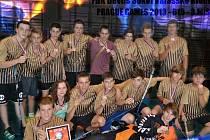 Bronzový tým FBK Devils Sokol Valašské Klobouky.