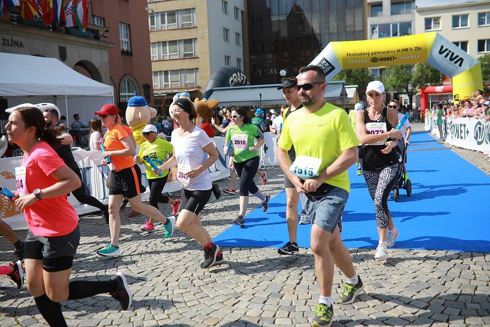 Festivalový půlmaraton Zlín Film Festivalu