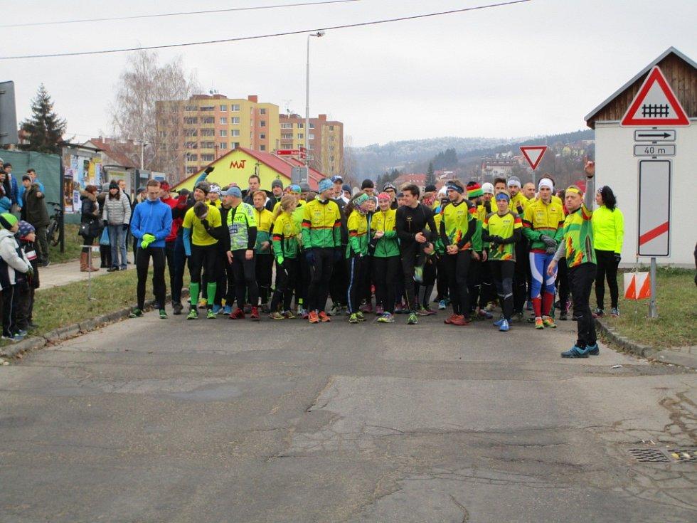 Štědrovečerní běh v Luhačovicích 2016