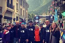Tomáš Štverák závod Ultra Trail du Mont Blanc 2021