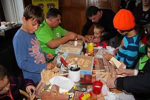 O víkendu 19. a 20. října 2019 se v prostorách zámku ve Zlíně konal první Dětský festival řemesel.