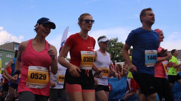 Festivalový půlmaraton ve Zlíně 2018