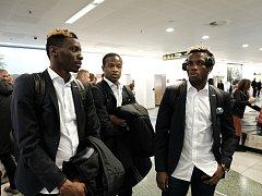 Fotbalisté Fastavu Zlín ve středu ráno odletěli z brněnského letiště v Tuřanech do Kodaně, kde je čeká další zápas Evropské ligy.