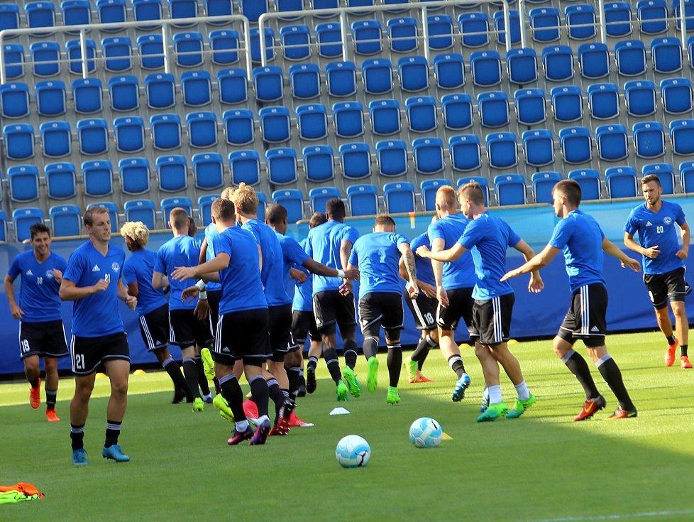 fotbal Super pohár FC  FASTAV Zlín  - ŠK Slovan Bratislava