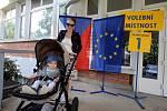Volby do evropského parlamentu 2019. Volební okrsek č.1