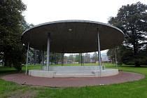Rekonstrukce parku J. A. Komenského ve Zlíně.