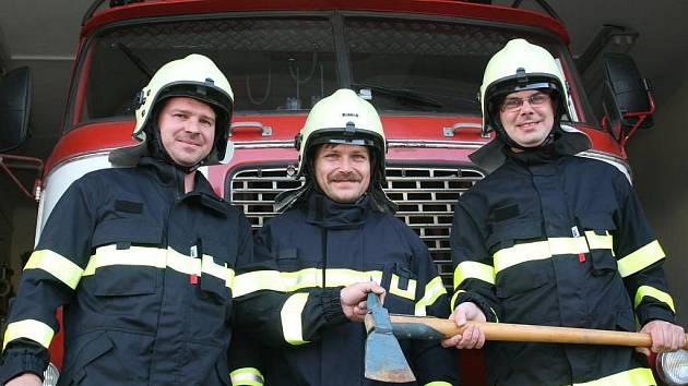 Sbor dobrovolných hasičů z Oldřichovic u Otrokovic.