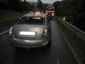Nehoda blokovala dopravu z Březnice na Zlín