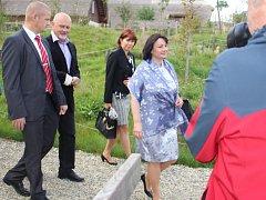Druhý den Ivany Zemanové na oficiální návštěvě ve Zlínském kraji.