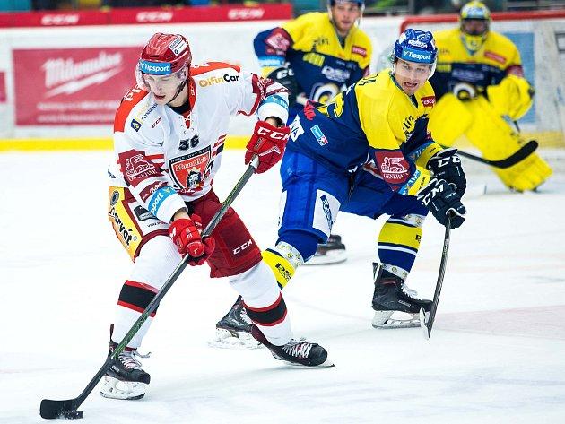 Extraliga hokej Mountfield Hradec Králové vs. Zlín