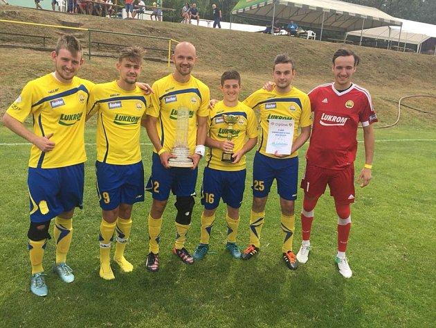 Fotbalisté FK Luhačovice v Lázeňském poháru 2018