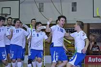 IV. čtvrtfinále florbalové extraligy - Panters Otrokovice - Pedro Peréz Chodov