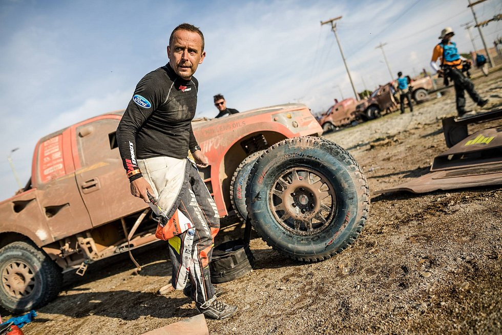 Otrokovický navigátor Jan Tománek se slavného Dakaru zúčastnil už popáté.