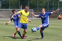 Fotbalisté Zlína B v úvodním zápase třetí ligy prohráli na hřišti Uničova 2:4. Foto: pro Deník/Jan Zahnaš