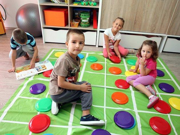 Slavnostní otevření mateřské školky Oskárek v Otrokovicích.