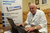 Primář Jiří Gaťek z Nemocnice Atlas